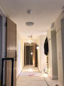 fire alarm services in surrey mid way through lighting project
