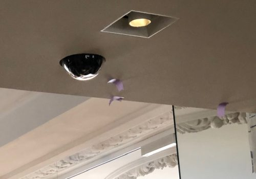 camera on ceiling